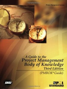 A Guide To The Project Management Body Of Knowledge, 3/e (Paperback)-cover