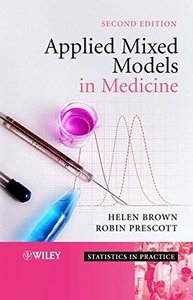 Applied Mixed Models in Medicine, 2/e-cover