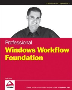 Professional Windows Workflow Foundation-cover
