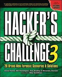 Hacker's Challenge 3, 3/e-cover