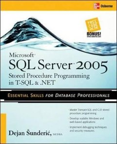 Microsoft SQL Server 2005 Stored Procedure Programming in T-SQL & .NET, 3/e (Paperback)-cover