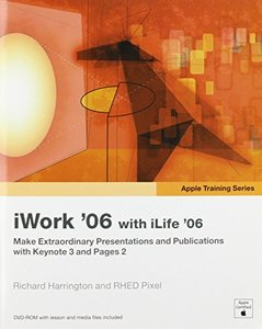 Apple Training Series: iWork 06 with iLife 06-cover
