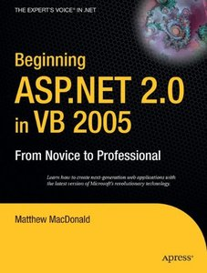 Beginning ASP.NET 2.0 in VB 2005: From Novice to Professional-cover