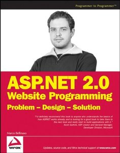 ASP.NET 2.0 Website Programming: Problem - Design - Solution (Paperback)-cover