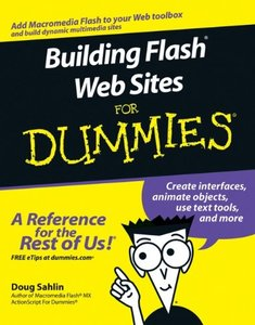 Building Flash Web Sites For Dummies-cover