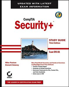 CompTIA Security+ Study Guide: Exam SY0-101, 3/e (Paperback)-cover