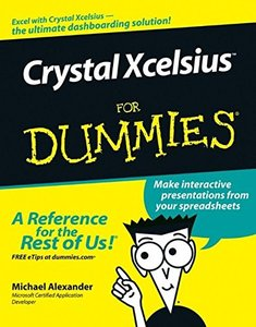 Crystal Xcelsius For Dummies-cover