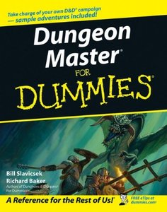 Dungeon Master For Dummies (Paperback)-cover