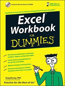 Excel Workbook For Dummies-cover