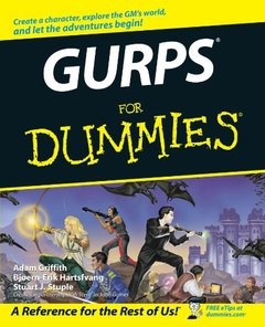 GURPS For Dummies (Paperback)-cover