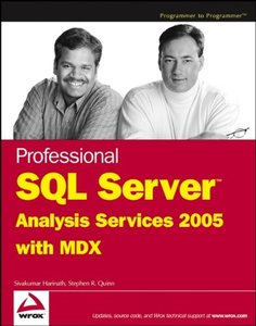 Professional SQL Server Analysis Services 2005 with MDX (Paperback)-cover