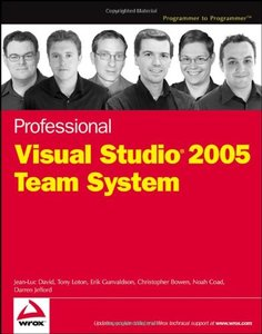 Professional Visual Studio 2005 Team System (Paperback)-cover