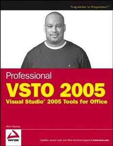 Professional VSTO 2005: Visual Studio 2005 Tools for Office-cover