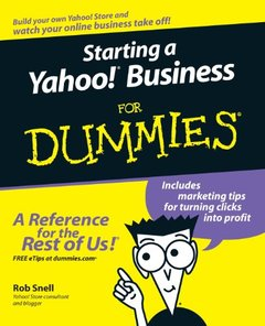 Starting a Yahoo! Business For Dummies-cover