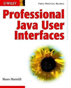 Professional Java User Interfaces (Paperback)-cover