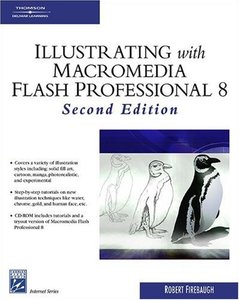 Illustrating with Macromedia Flash Professional 8, 2/e-cover