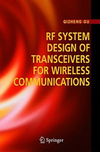RF System Design of Transceivers for Wireless Communications (Hardcover)-cover