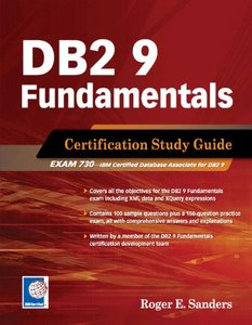 DB2 9 Fundamentals: Certification Study Guide (Paperback)-cover