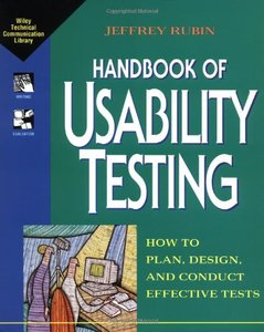 Handbook of Usability Testing: How to Plan, Design, and Conduct Effective Tests-cover