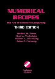 Numerical Recipes with: The Art of Scientific Computing, 3/e-cover