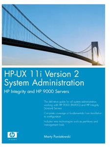 HP-UX 11i Version 2 System Administration: HP Integrity and HP 9000 Servers-cover