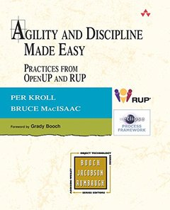 Agility and Discipline Made Easy: Practices from OpenUP and RUP (Paperback)-cover