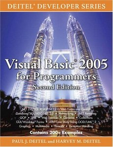Visual Basic 2005 for Programmers, 2/e-cover