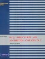 Data Structures and Algorithm Analysis In C, 2/e (IE-Paperback)-cover