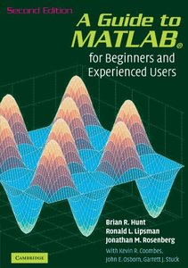 A Guide to MATLAB: For Beginners and Experienced Users, 2/e (Paperback)-cover