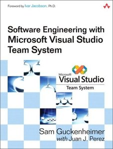 Software Engineering with Microsoft Visual Studio Team System-cover
