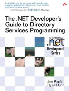 The .NET Developer's Guide to Directory Services Programming-cover