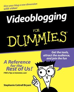 Videoblogging For Dummies-cover