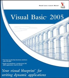 Visual Basic 2005: Your visual blueprint for writing dynamic applications-cover