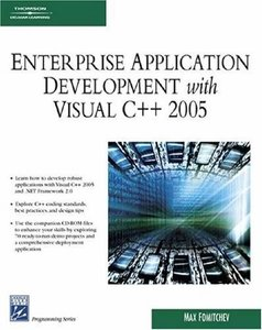 Enterprise Application Development with Visual C++ 2005 (Paperback)-cover