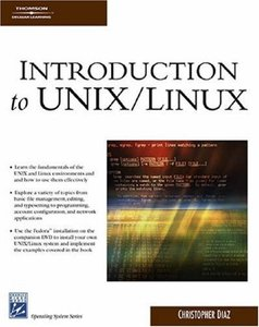 Introduction To UNIX/Linux (Paperback)-cover