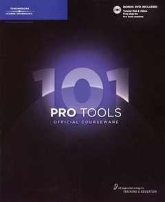 Pro Tools 101 Official Courseware (Paperback)-cover