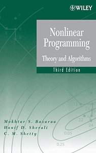 Nonlinear Programming: Theory and Algorithms, 3/e (Hardcover)-cover