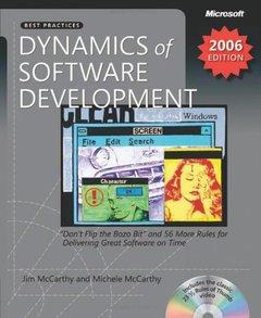 Dynamics of Software Development, 2/e-cover