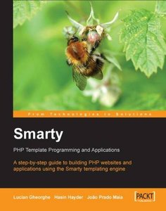 Smarty PHP Template Programming And Applications-cover