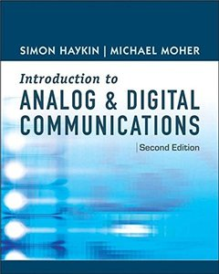 Introduction to Digital and Analog Communications 2/e (Hardcover)-cover
