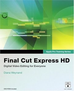 Apple Pro Training Series: Final Cut Express HD-cover