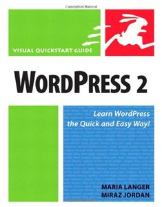 WordPress 2: Visual QuickStart Guide-cover