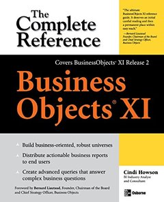 Business Objects XI: The Complete Reference (Paperback)-cover
