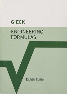 Engineering Formulas, 8/e