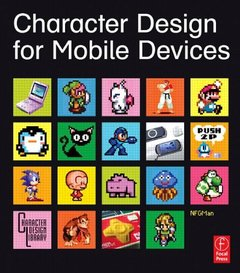 Character Design for Mobile Devices (Paperback)-cover