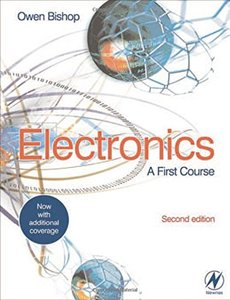Electronics: A First Course, 2/e (Paperback)-cover