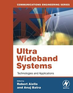 Ultra Wideband Systems: Technologies and Applications-cover