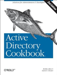Active Directory Cookbook, 2/e-cover