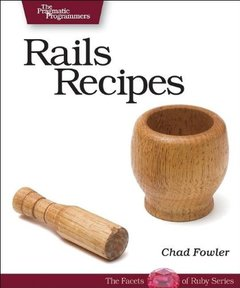 Rails Recipes (Paperback)-cover