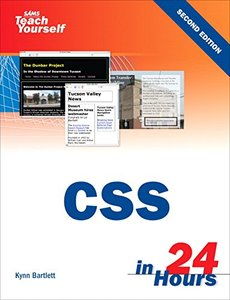 Sams Teach Yourself CSS in 24 Hours, 2/e-cover